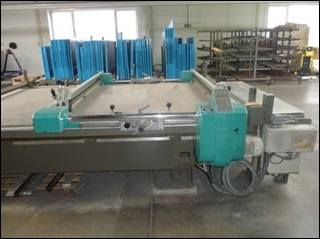1 machine impression tissu à un cadre plat Marque BUSER