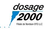 DOSAGE 2000 NORDSON EFD