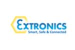 logo de EXTRONICS (Stand SOLYTEC)