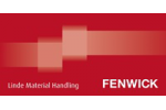 logo de FENWICK (Stand NORMANDIE MANUTENTION)