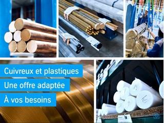 THYSSENKRUPP MATERIALS FRANCE - Cuivreux & plastiques une offre de qualité adaptée à vos besoins