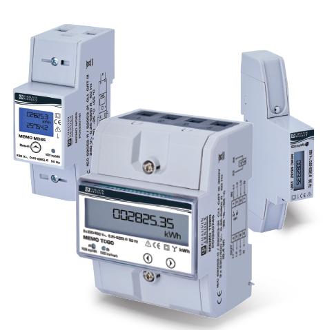 MEMO MD32 / MD65 /TD80 - Compteurs d'énergie - CHAUVIN ARNOUX ENERGY