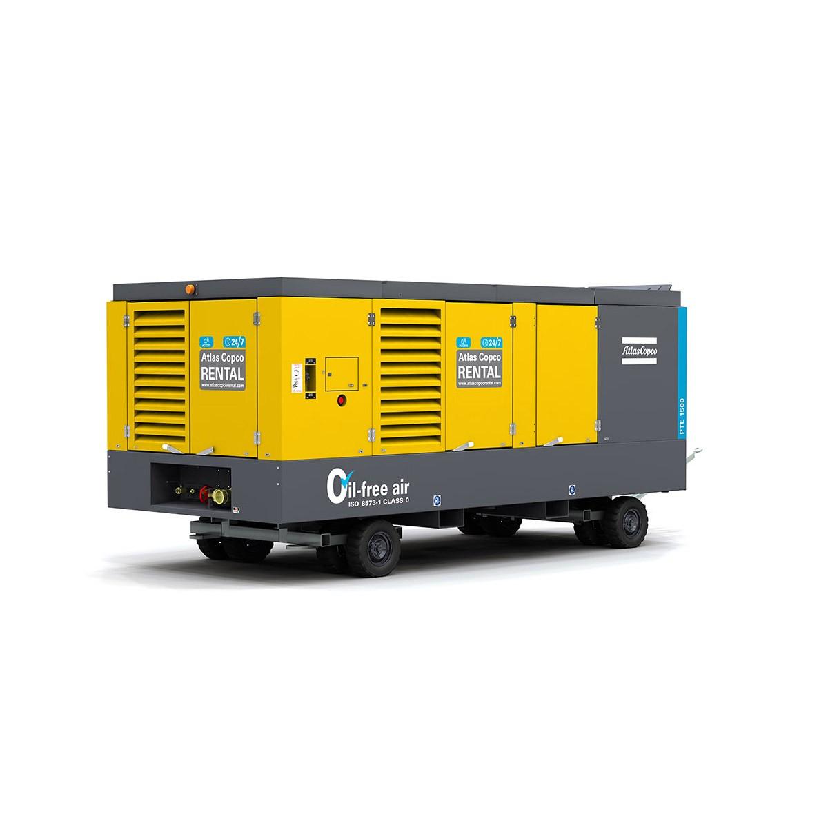 ATLAS COPCO - Location - Compresseur électrique à vis PTE 1500 - 100 % exempt d'huile