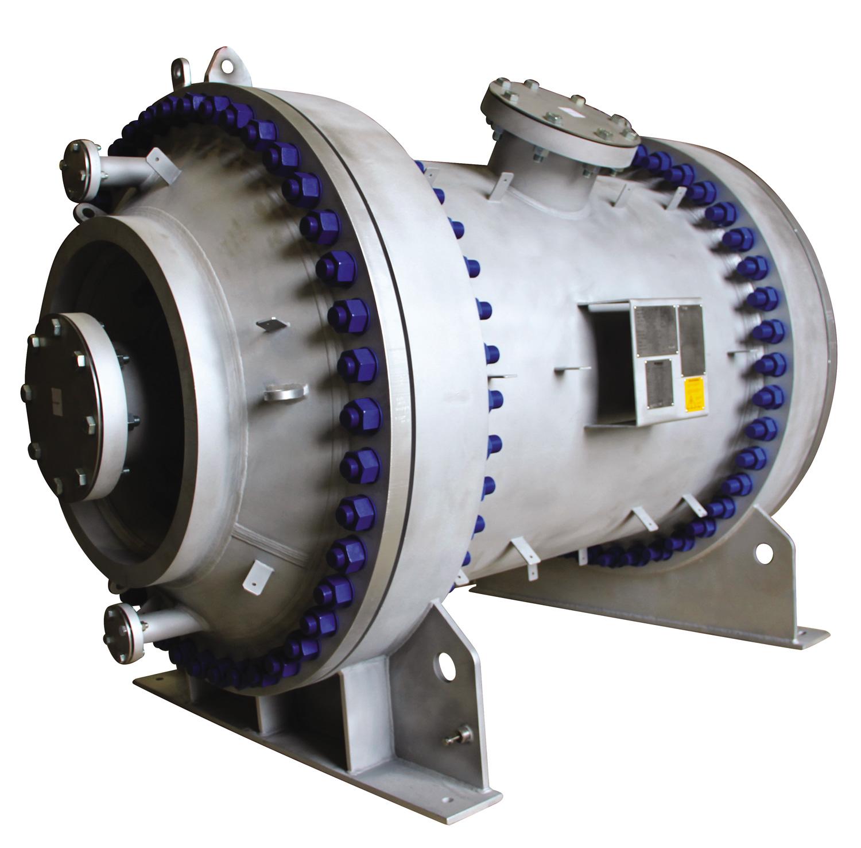 NEXSON GROUP - Echangeur spiralé Type 1 Hautes Pressions - Application Liquide-Liquide