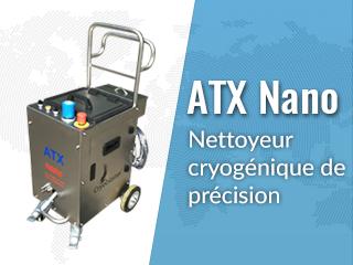 DELTA DIFFUSION - Cryoblaster® ATX Nano - Machine Nettoyage Cryogénique