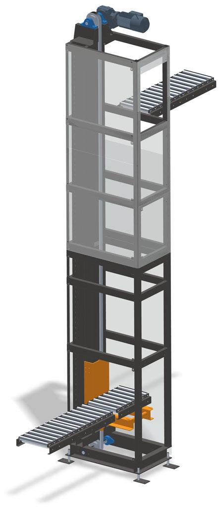 MATREX - Convoyeur vertical/Convoyeur élévateur