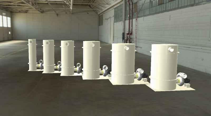 FILTRE CHARBON - Filtre à charbon actif sur mesure