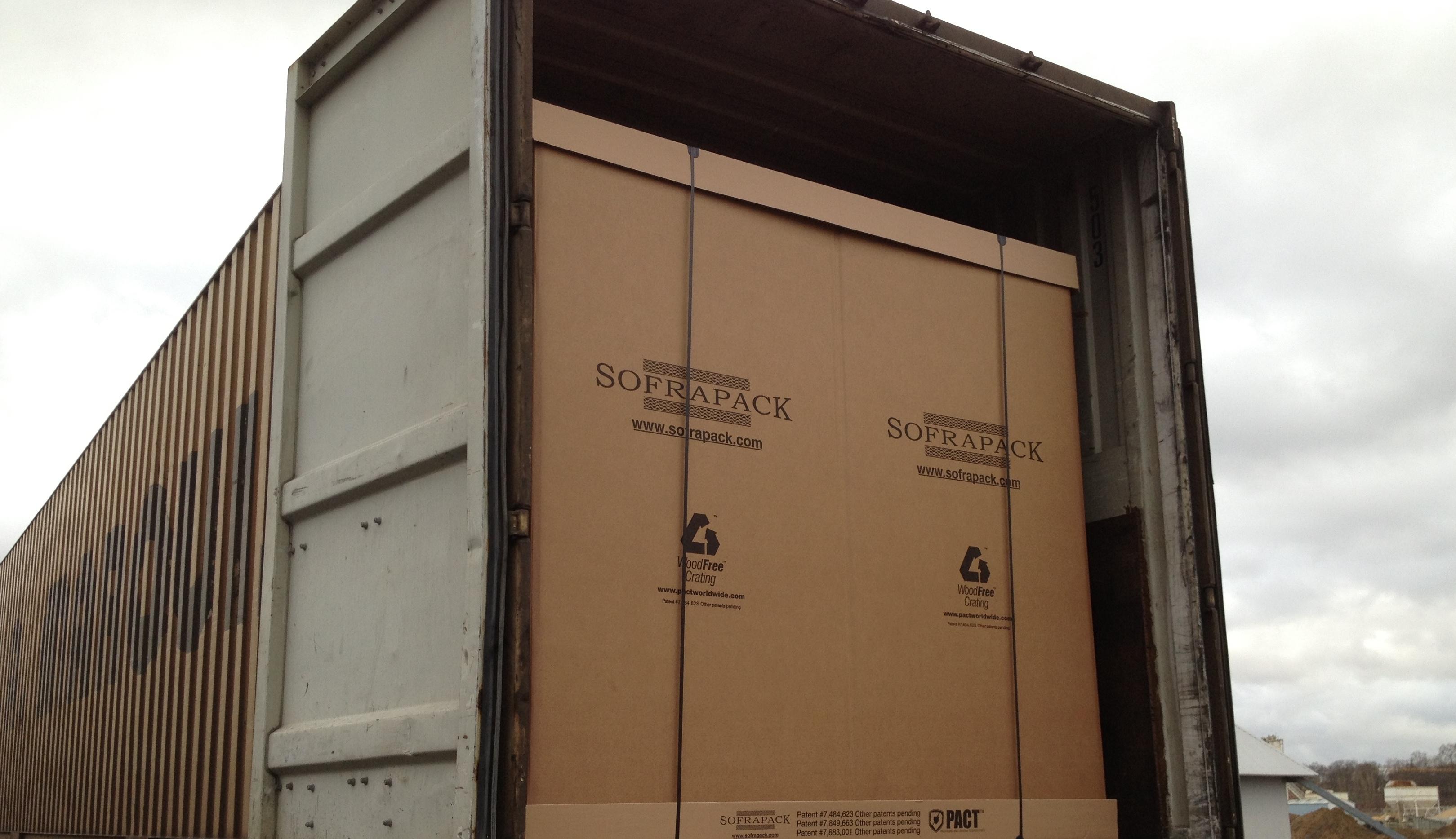 SOFRAPACK - Caisse palette transport maritime