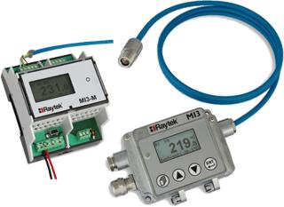 JLH Mesure - Pyromètre optique infrarouge compact à visée laser - Haute température de 250 °à 1800 °C - 1M et 2M - MI3