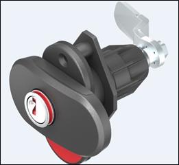 EMKA FRANCE - Serrure à compression Double Red - la double sécurité pour vos compartiments