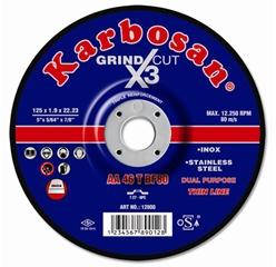 Grind X3 Cut le disque 2 en 1 de Karbosan
