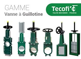 TECOFI : vannes à guillotine