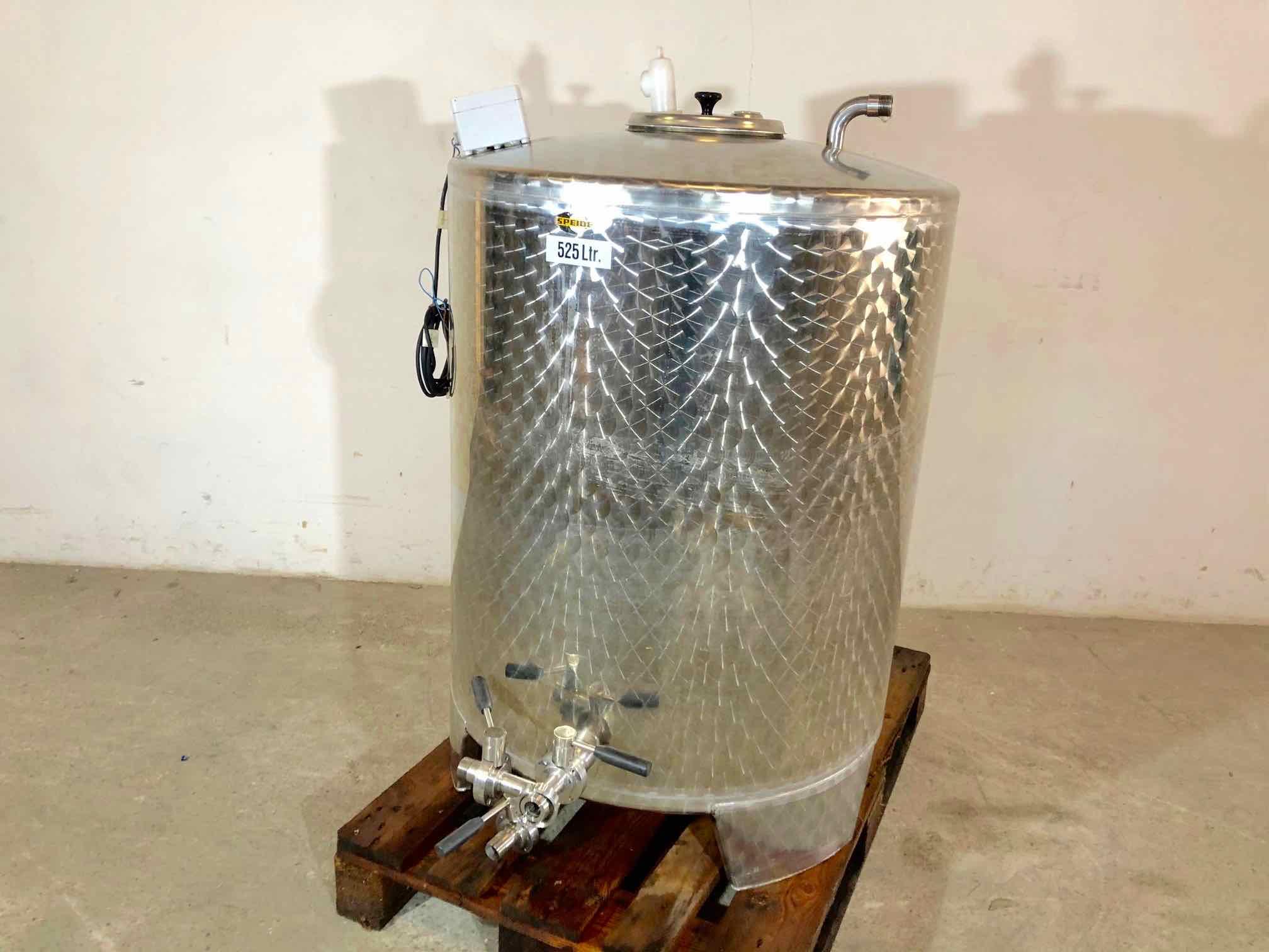 SPEIDEL - Cuve inox - 5.25 HL