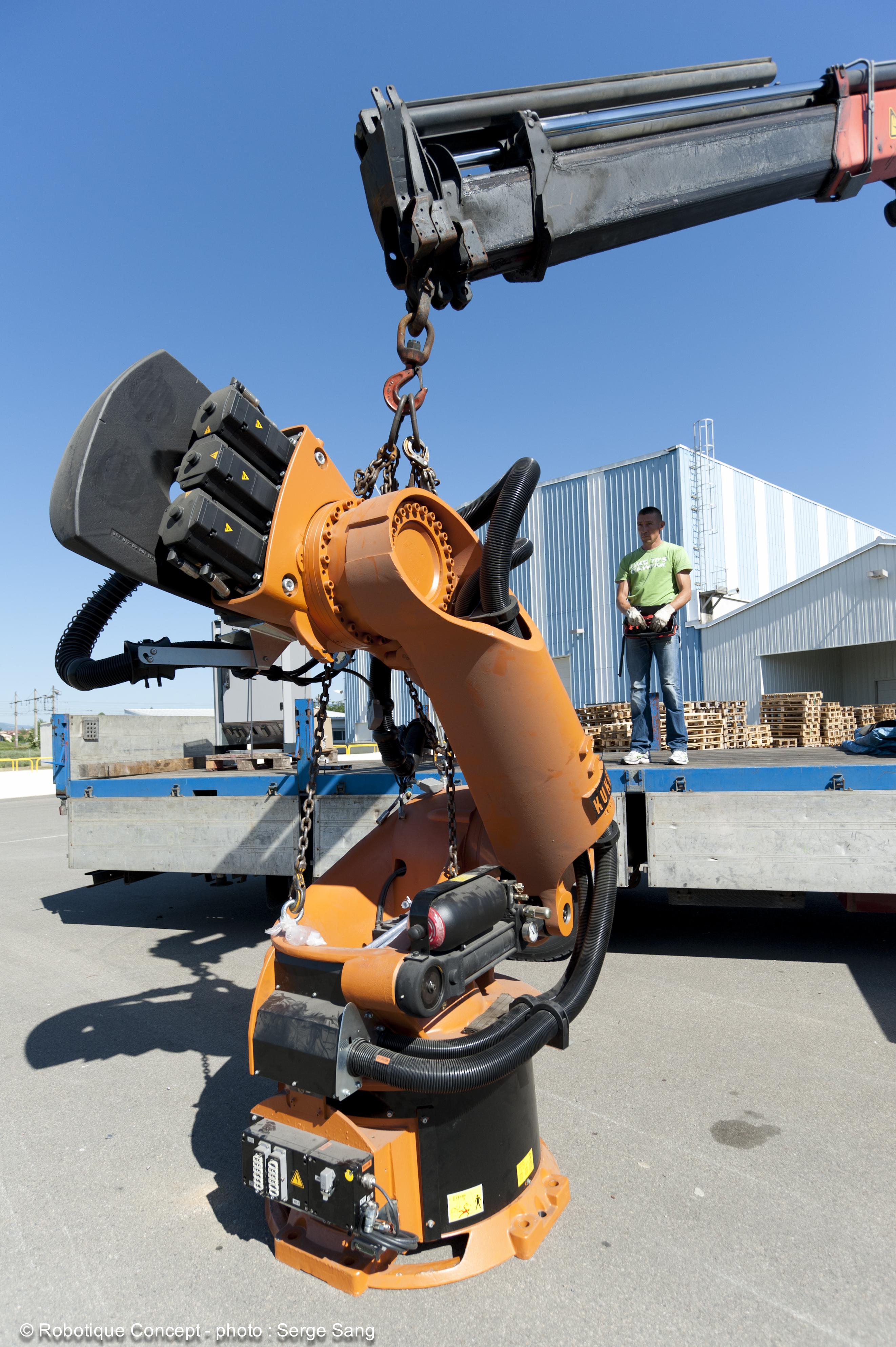 Robots industriels  de grande qualité