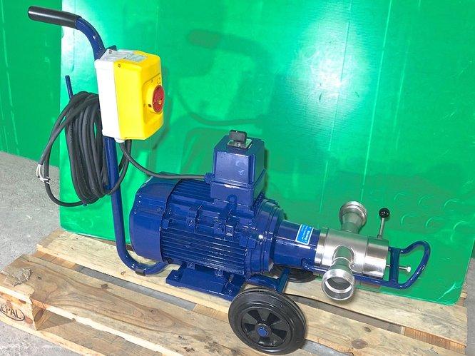 80/160 hl/h pompe à impulseur avec bypass 2 vitesses