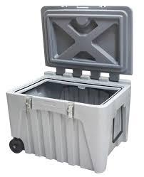 DENIOS - Box de stockage et de transport à roulettes