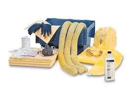 DENIOS - Kit d'absorbants pour produits chimiques