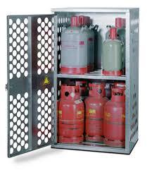DENIOS - Armoire pour bouteilles de gaz