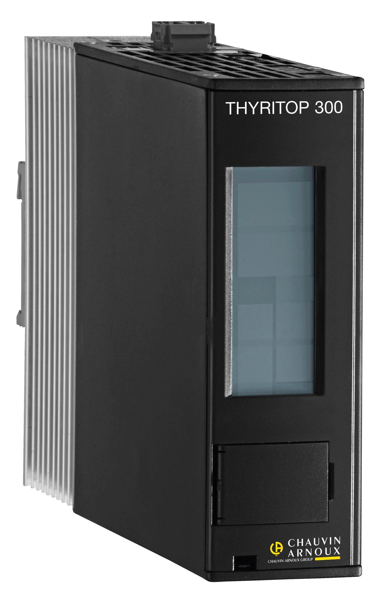 CHAUVIN ARNOUX GROUP - THYRITOP 300 – Régulateurs de puissance de 16 A … 1 500 A - PYROCONTROLE