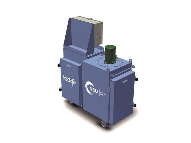 DELTA NEU - Unité de filtration NBC (Nucléaire, Biologique, Chimique) MED PZR