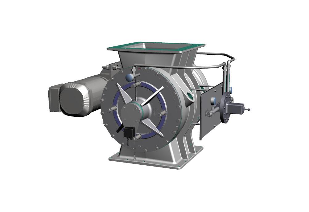 DELTA NEU - Écluse rotative PV