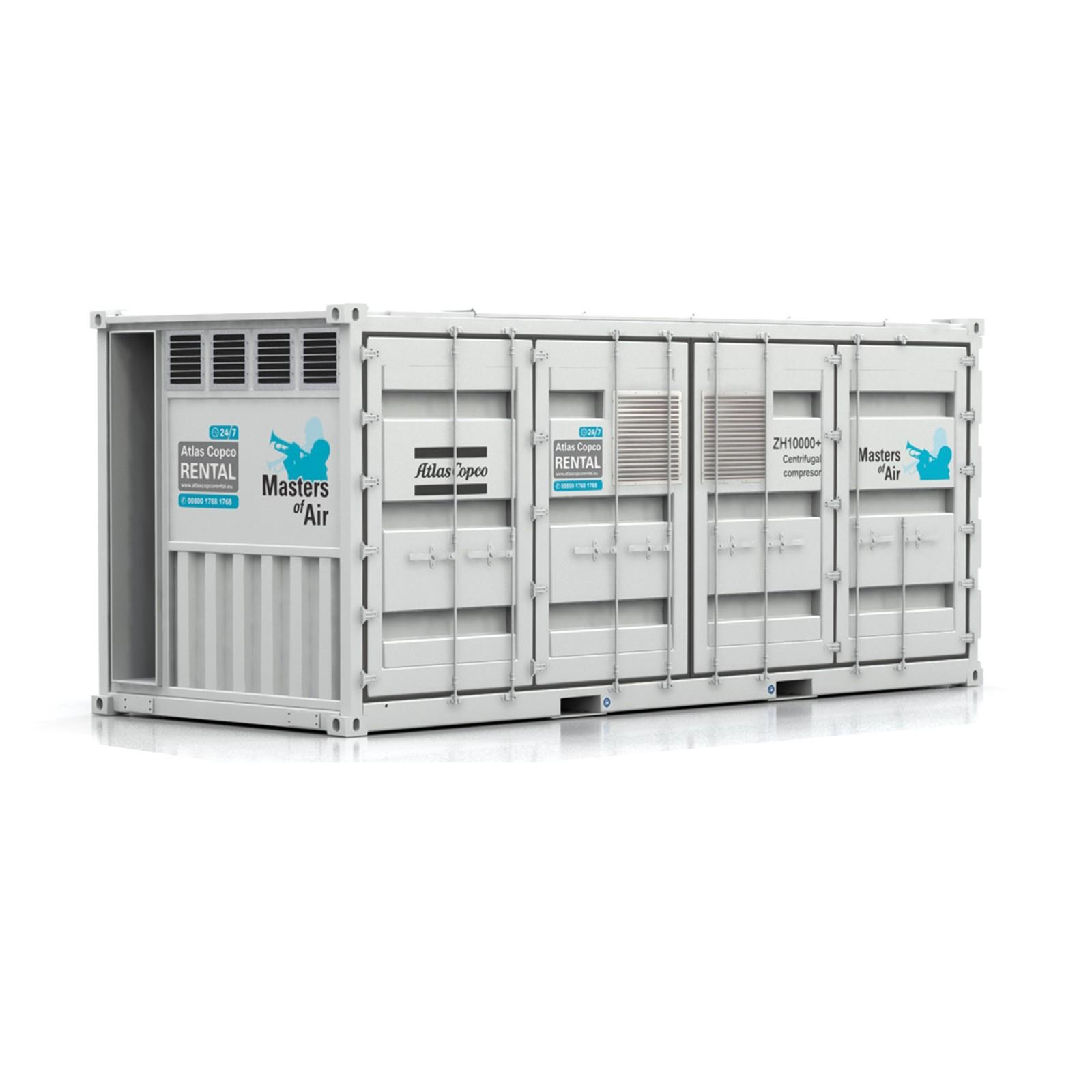 ATLAS COPCO - Location - Compresseur d'air centrifuge ZH 10 000 - 100% exempt d'huile - Volume élevé