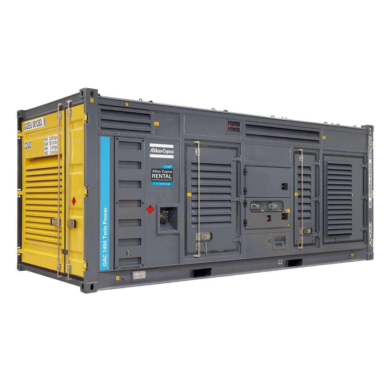 ATLAS COPCO - Location - Groupe électrogène TwinPower QAC 1450