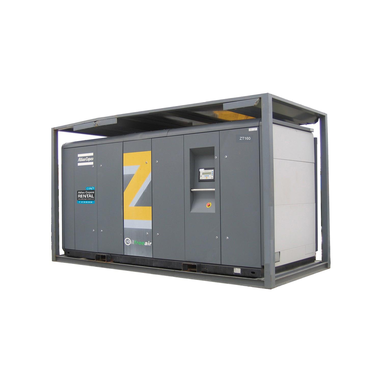 ATLAS COPCO - Location - Compresseur électrique à vis ZT >90 kW - 100% exempt d'huile