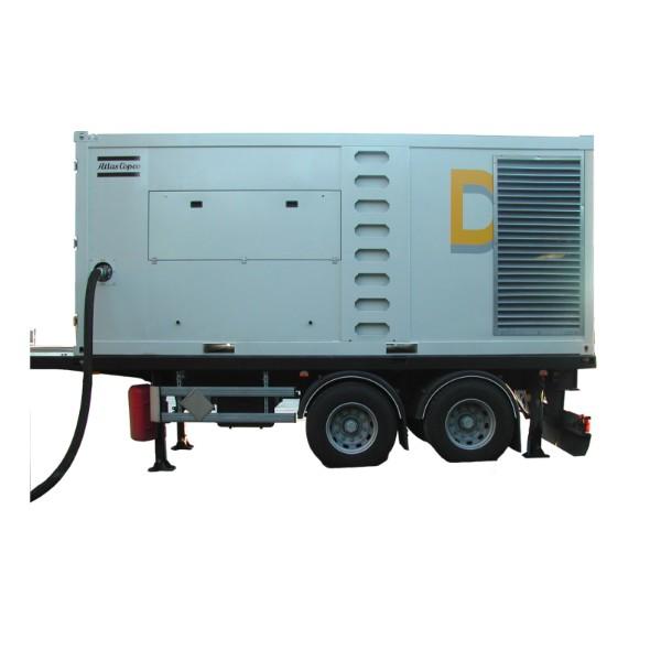 ATLAS COPCO - Location - Compresseur électrique à piston DNS 160 VSD - 100% exempt d'huile