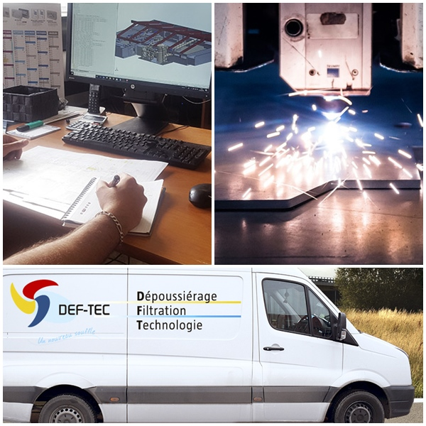 DEF TEC - SERVICES : Mise en route /Mise en service, Contrôle / Audit, Maintenance /SAV