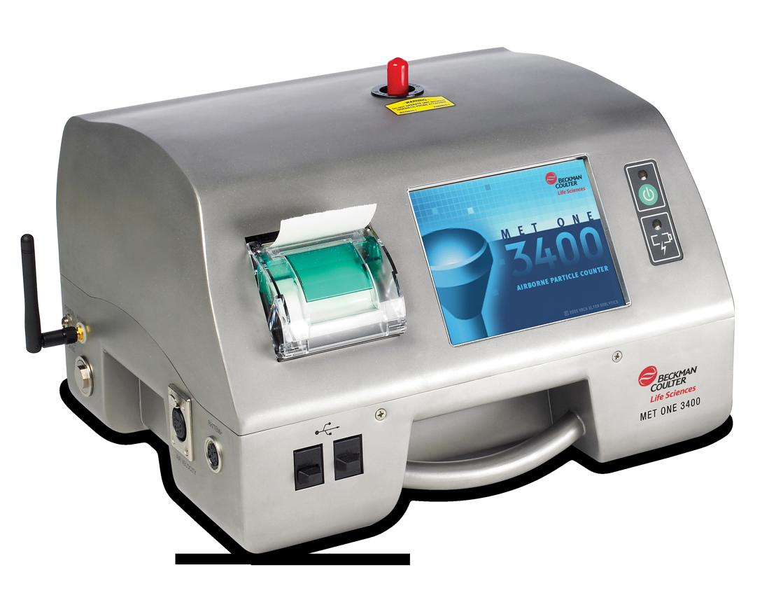 Beckman Coulter - Compteur portable de particules aéroportées MetOne 3400