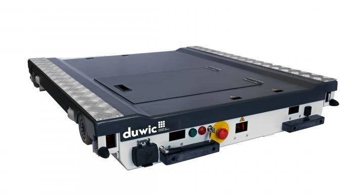 DUWIC - ROBOT NAVETTE - Rayonnage à Palettes automatisé