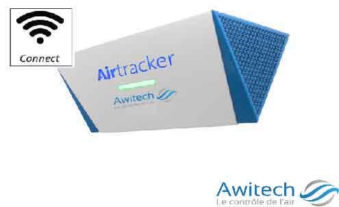 AWITECH - AirTracker - Système de Surveillance de la Qualité de l'air intérieur