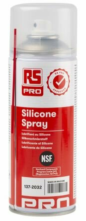RS COMPONENTS - Lubrifiant Silicone RS PRO, Aérosol 400 ml NSF