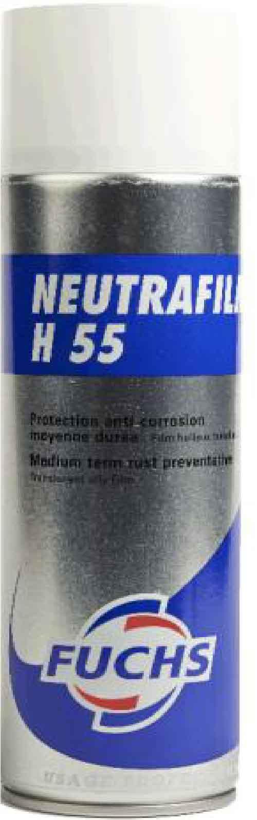FUCHS LUBRIFIANT FRANCE - AEROSOL NEUTRAFILM H55
