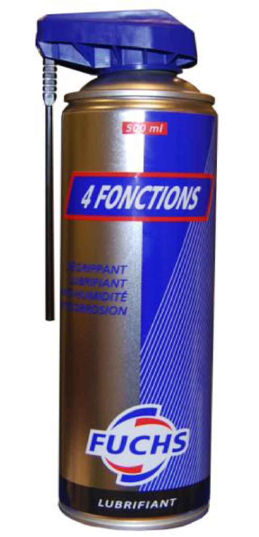 FUCHS LUBRIFIANT - AEROSOL FUCHS 4 FONCTIONS