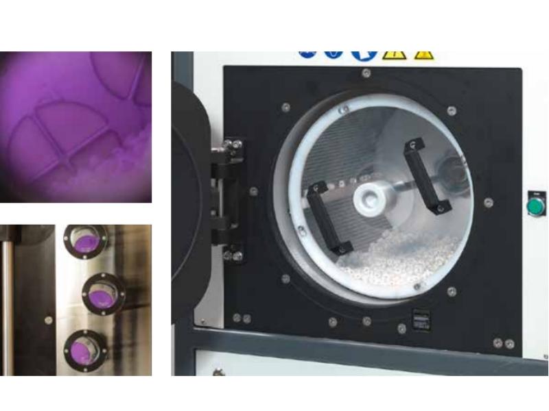 AMG Solution - RotoVAC, traitement plasma sous vide pour pièces en vrac
