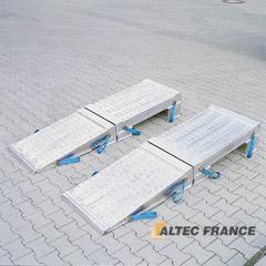 ALTEC FRANCE - Pentes de chargement en aluminium, pour fortes capacités