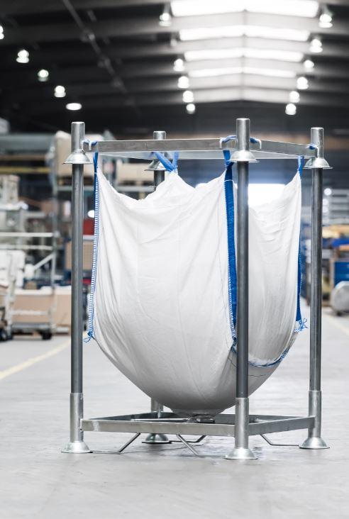 MANULINE - Supports pour conteneurs souples (Big Bag, G.R.V.S.)