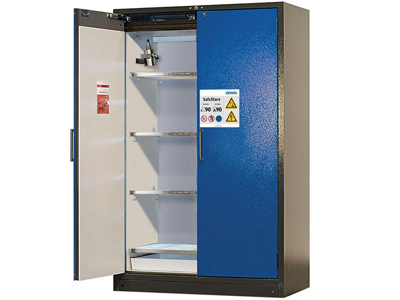 DENIOS - Armoire de stockage SafeStore pour batteries Lithium-ion