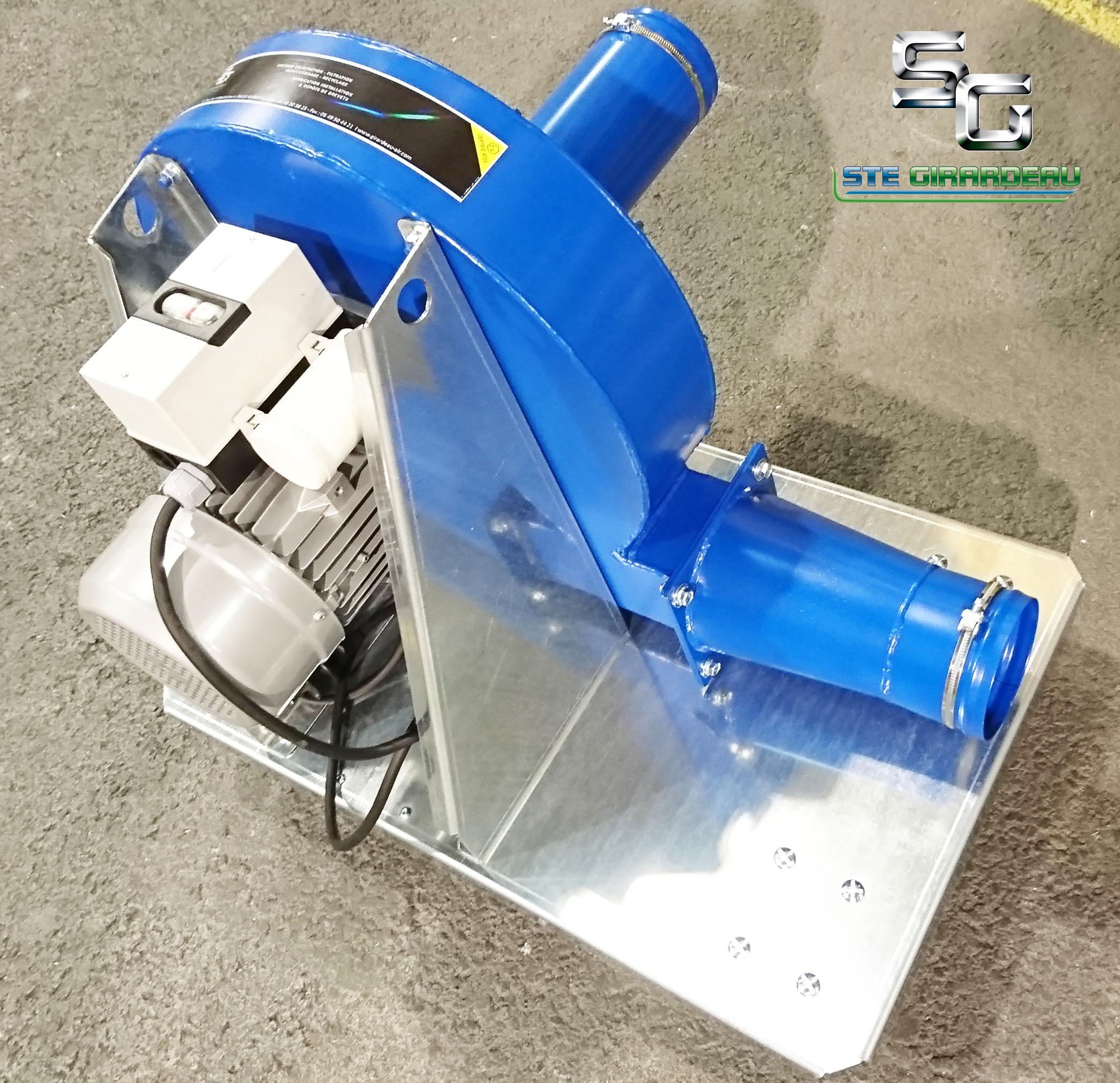 GIRARDEAU - Machine à souffler SIC (laine de verre)