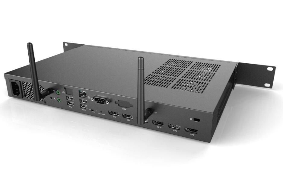 SYSTOLIC - Serveur 1U pour affichage 6 écrans full HD et mur d'image
