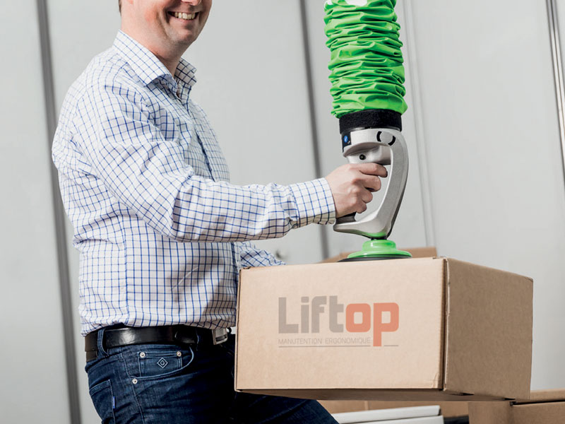 Liftop - Tube de levage ergonomique piLIFT® SMART