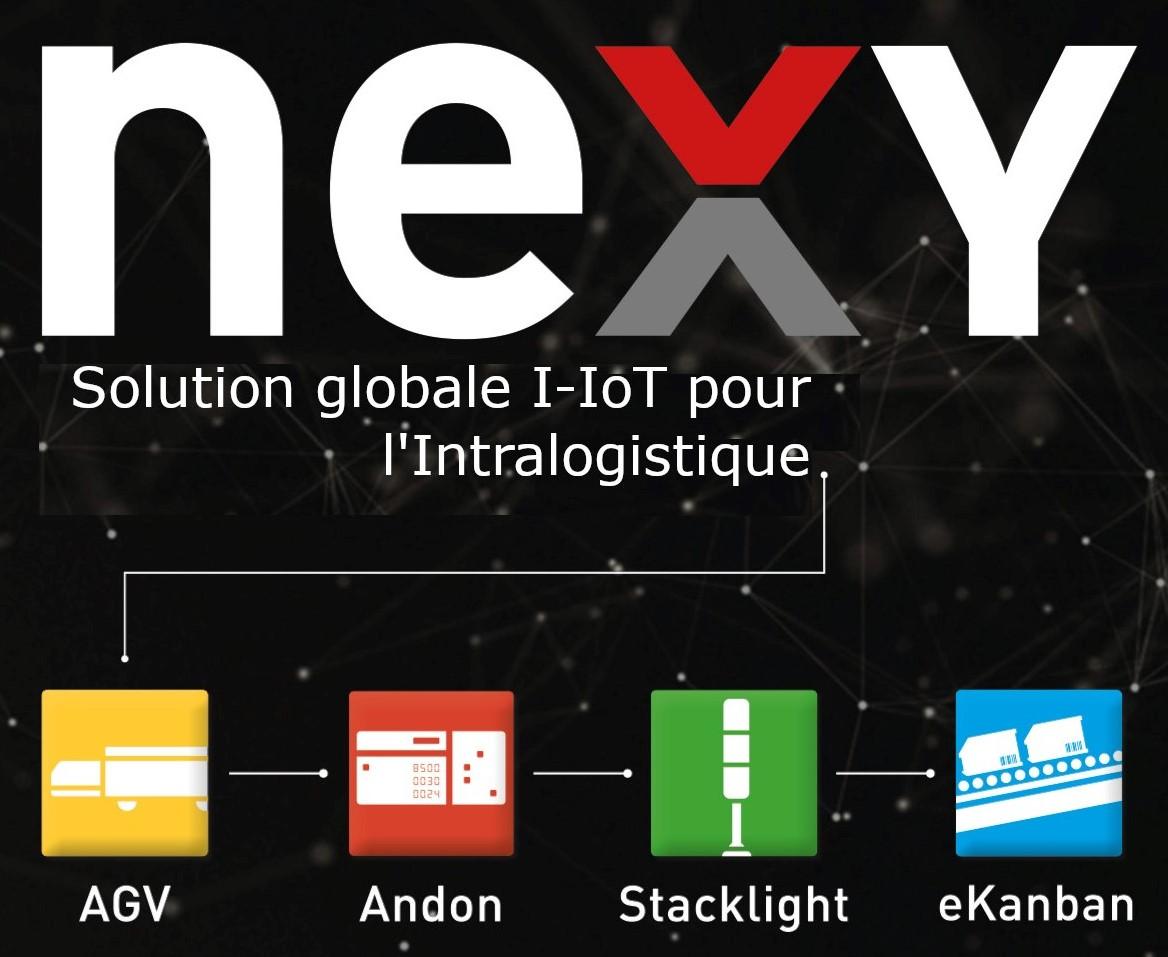 NEXY - écosystème I-IoT globale pour l'Intralogistique
