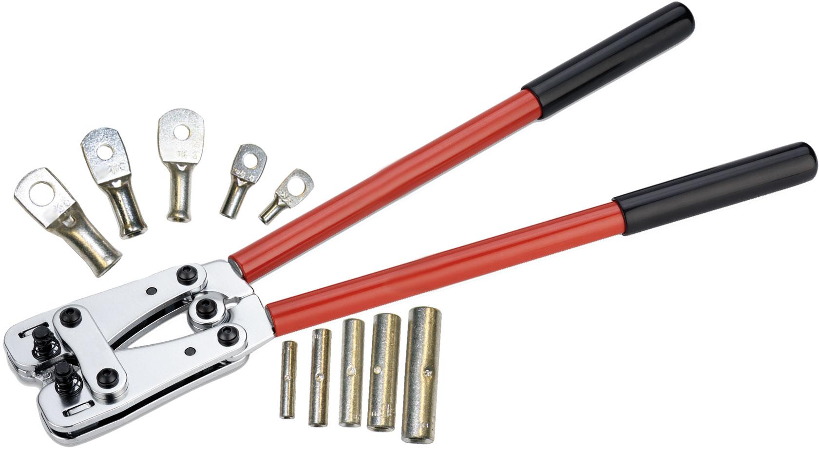 BTC PE - Pince à sertissage Hexagonal NF pour cosses de 6 à 120mm²