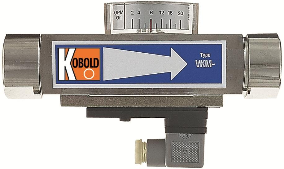 KOBOLD INSTRUMENTATION - VKM : indicateur contrôleur de débit d'huile