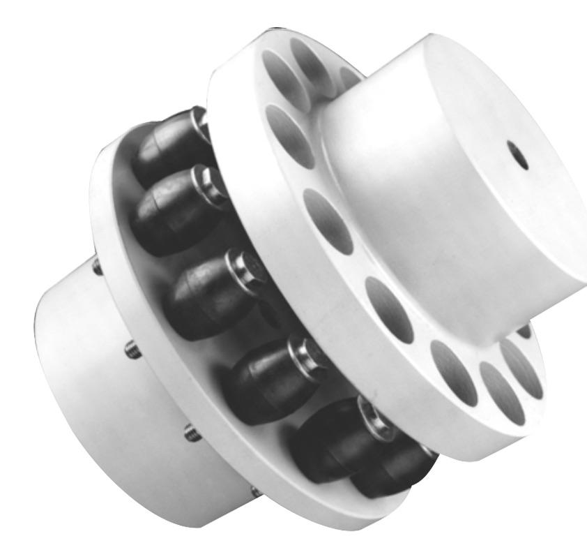 Accouplements élastiques à Tampons Rb-Flex, Accouplements à broches élastiques