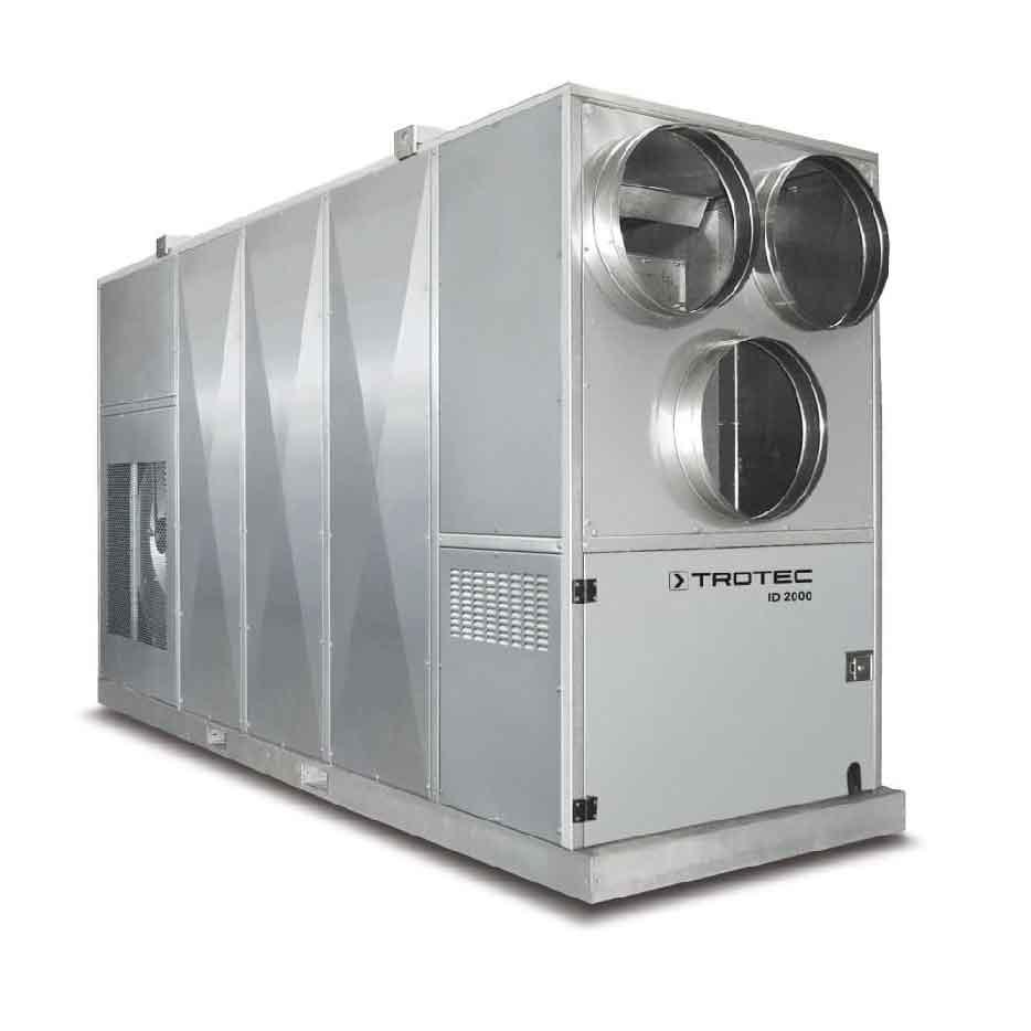 Centrale de chauffage au fioul ID 2000