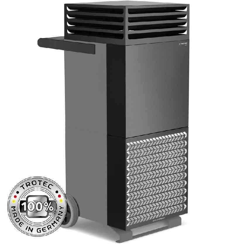 Purificateur d'air TAC V+ gris basalte/noir
