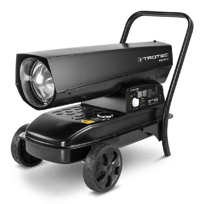 Canon a chaleur au fioul a combustion directe IDX 31 D